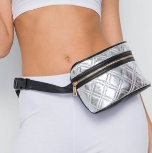 Handbags - Last 1! Silver Belt Bag